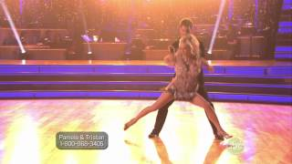 DWTS 15   Pamela Anderson & Tristan MacManus CHA CHA 120926091036