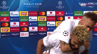 Neymar crashes Choupo-Moting's interview, striker remains humble in victory