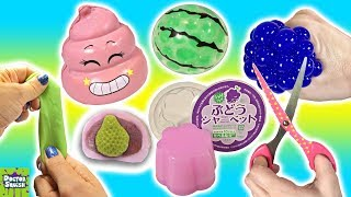 Cutting Open Squishy Toys! Slime Mesh Ball And A Crazy Crunchy Squishy!? Doctor Squish