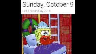 Its leif erikson day