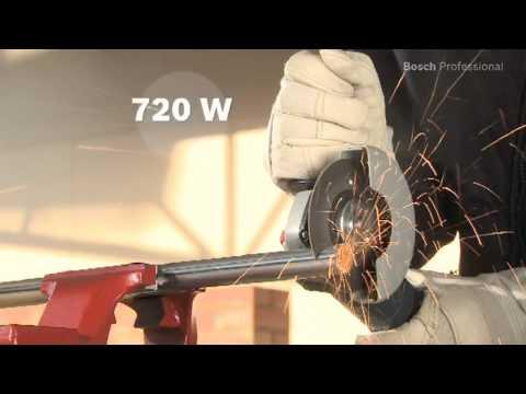 Bosch GWS7-115 115MM 110 Volt Angle Grinder 720 Watt