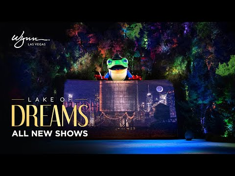 Entertainment returns to Wynn Las Vegas with the new Lake of Dreams, the only show to debut this fall anywhere on The Strip.
