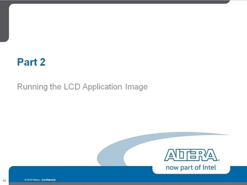 Creating UEFI LCD Application and Running the LCD Application Image 2