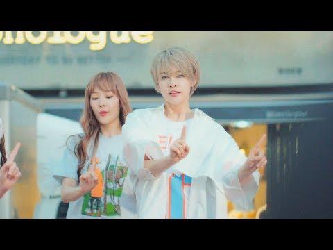 공원소녀 (GWSN) Dance Cover  빛나리 (Shine) + Bad Boy  @180719 대구 동성로 버스킹 [4k Fancam/직캠