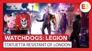 "Watch Dogs Legion - La statuetta del trailer di annuncio ""Resistant of London"""