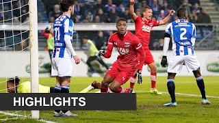Highlights sc Heerenveen - AZ | Eredivisie