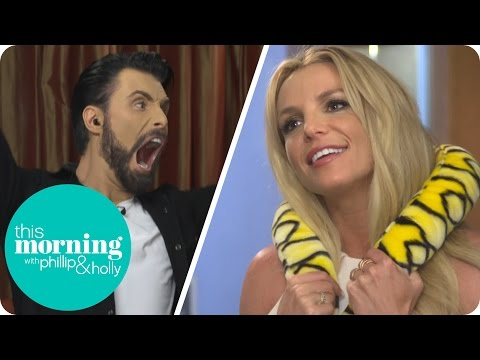 Britney Spears Is Baffled By Rylan's Dance Moves Game! | This Morning