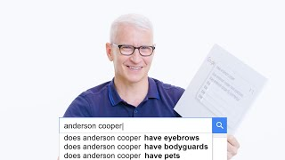 Anderson Cooper Answers the Web's Most Searched Questions   WIRED