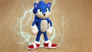 Making SONIC the Hedgehog with CLAY! (movie version)