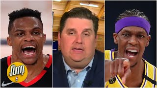 Russell Westbrook's feud with Rajon Rondo's brother will haunt him - Brian Windhorst | The Jump