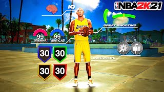 KOBE BRYANT - SHOT CREATING POST SCORER - FULL BUILD CREATION NBA 2K21