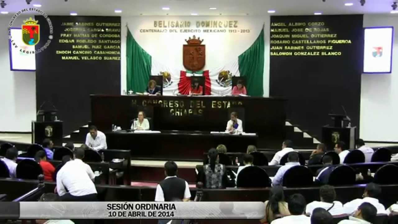 Sesión Ordinaria 10 de Abril de 2014