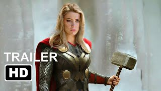 """Thor 4: The Love and Thunder """"Teaser Trailer"""" (2022) Chirs Hemsworth, Christian Bale 'Marvel Concept"""