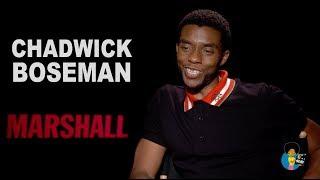 Chadwick Boseman - The Marshall Interview