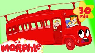 Morphle The Bus Breaks Down - My Magic Pet Morphle   Cartoons For Kids   Morphle   Mila and Morphle