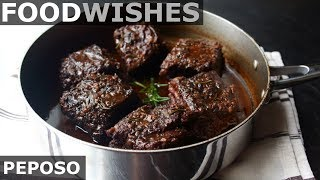 Peposo - Tuscan Black Pepper Beef - Food Wishes