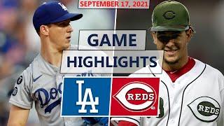 Los Angeles Dodgers vs. Cincinnati Reds Highlights | September 17, 2021 (Buehler vs. Castillo)