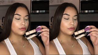 MORPHE FLUIDITY CONCEALER REVIEW | Comparing Morphe Fluidity Concealer To Tarte Shape Tape