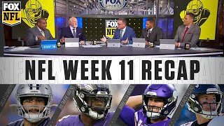 Week 11: Dak's outstanding performance, Ravens' momentum, and Vikings' early struggles | FOX NFL