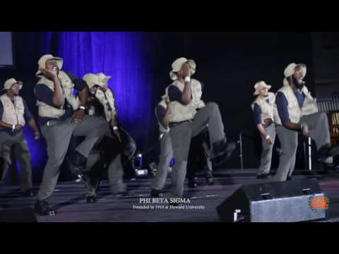 Phi Beta Sigma 2016 Atlanta Greek Picnic $10,000 Step show  (Official Video) #AGP2016