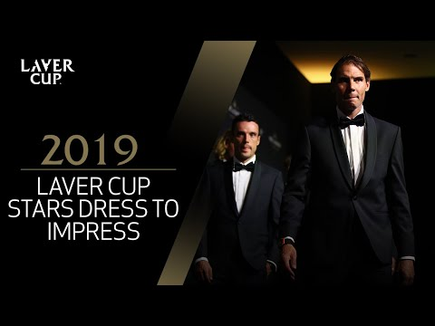 Laver Cup stars dress up for opening night | Laver Cup 2019