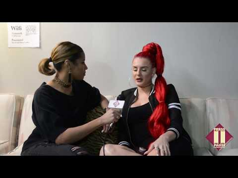 Justina Valentine Talks Music, Eminem and Wild N Out During Philly Show