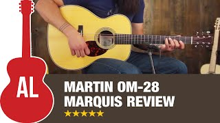 Tony's New Guitar: Martin OM-28 Marquis