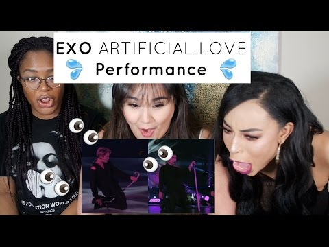 EXO ARTIFICIAL LOVE PERFORMANCE REACTION || TIPSY KPOP