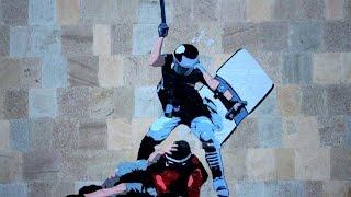 """Группа """"Контрудар"""": стрит-арт против системы (Армения)"""