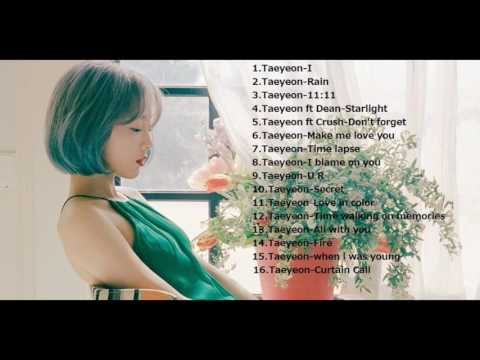 Kim Taeyeon (김태연) Relaxing Songs for Studying,sleeping