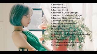 Kim Taeyeon (김태연) Relaxing Songs for Studying,sleeping