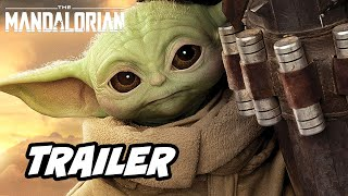The Mandalorian Season 2 Trailer - Season 3 Teaser and Star Wars Easter Eggs Breakdown