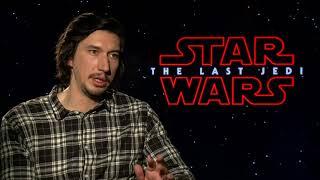 Star Wars: The Last Jedi    Adam Driver Junket Interview    SocialNews.XYZ