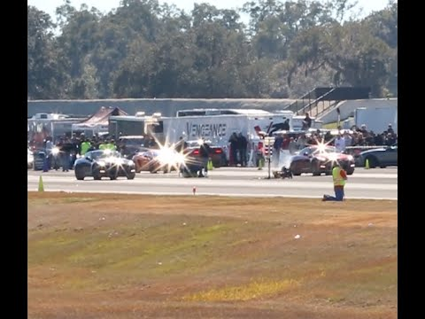 Two Nissan GT-R Race Against Each Other at WannaGOFAST Ocala Florida 2016 Jumbolair