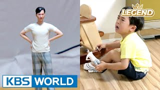 Seungjae breaks down in tears seeing his daddy so small! [The Return of Superman / 2017.06.18]