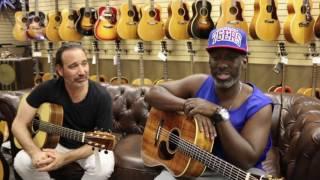 "Shawn Stockman from Boyz II Men & Jason Sinay playing ""Water Runs Dry"""