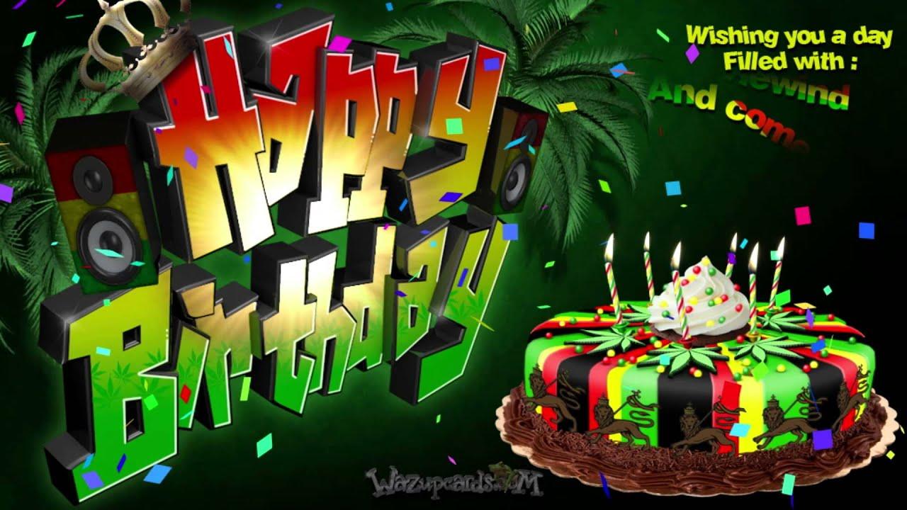 Reggae Music Max S Birthday Cake
