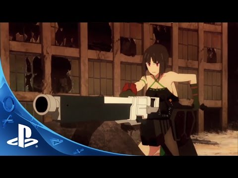 GOD EATER 2: Rage Burst Trailer