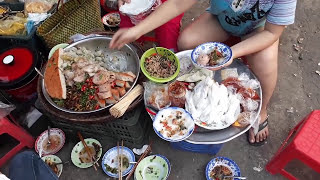 Ăn món ăn vặt lạ, ngon tại phố Huế (Street food Vietnam)