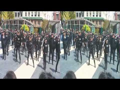 Rhythm Nation Flashmob in Union Square - April 01, 2012