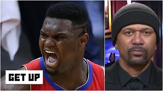 Jalen Rose answers: Has Zion Williamson gone from overhyped to underappreciated? | Get Up