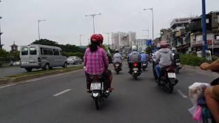 Bến Bạch Đằng,Võ Văn Kiệt,Saigon sáng,March,21,.2017