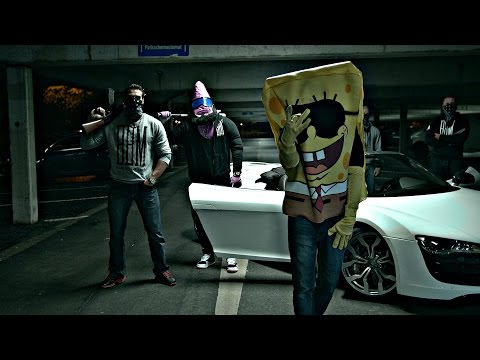 SpongeBOZZ - No Cooperacion Con La Policia (official Video)