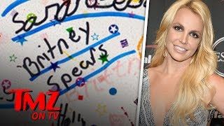 Britney Spears' 7-Year-Old Yearbook Is Being Auctioned Off | TMZ TV