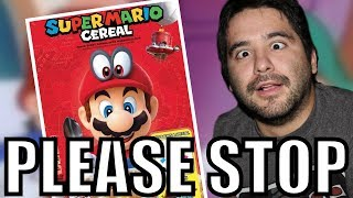 Super Mario Cereal RANT - THIS IS RIDICULOUS | 8-Bit Eric