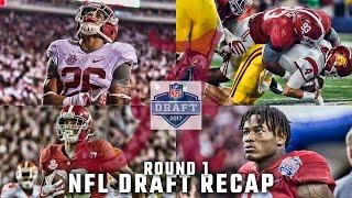Alabama's dramatic night at the NFL Draft