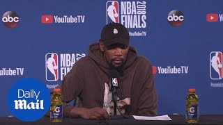 Kevin Durant on foul reversal and Warriors Game 1 victory