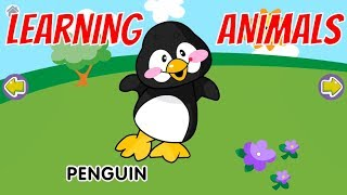 Learning Animals with Nursery Rhymes - Animal Sounds For Baby Game - #BabyGames