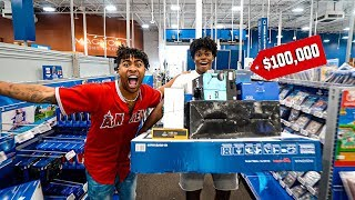 Anything You Can Carry, I'll Pay For Challenge!!! (Unlimited shopping spree)