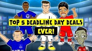 442oons: Top 5 Transfer Deadline Day Deals